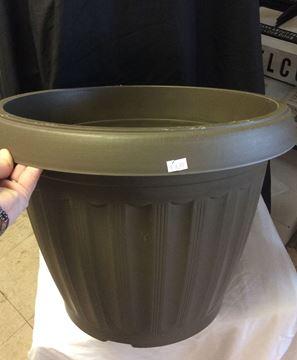 Hard Plastic Garden Pot
